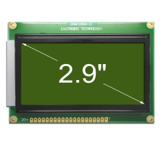 GLCD 128x64 display Graphic LCD Module w/KS0107+KS0108 Black on YG ERM12864SYG-2